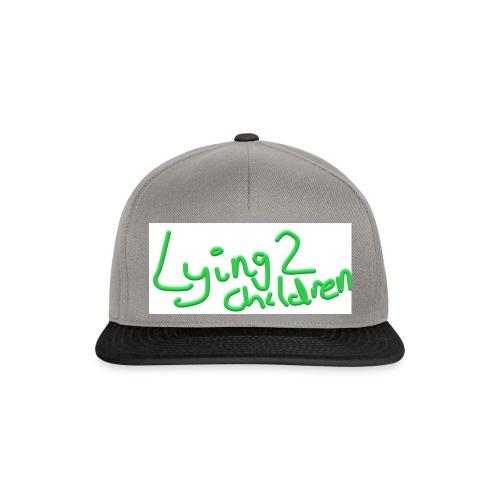 Lying 2 Children - Snapback Cap