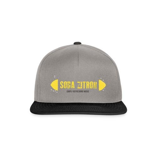 soda zitron logo weiss - Snapback Cap