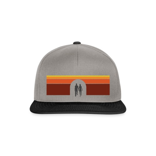 Couple in tunnel warm - Snapback Cap