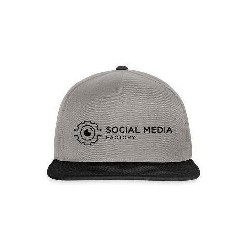Social Media Factory Logo - Snapback Cap