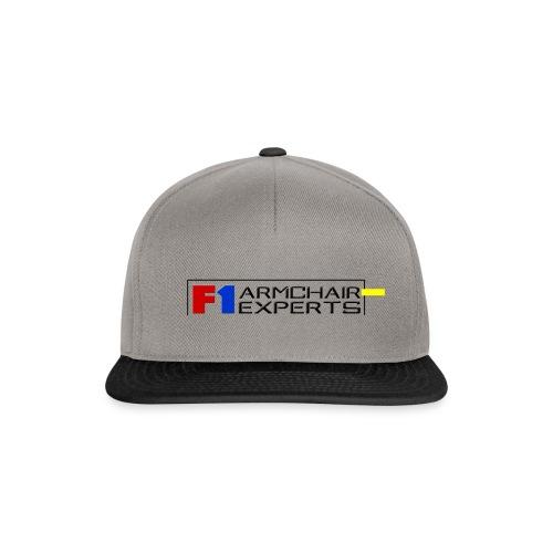 F1 Armchair Experts Logo BK - Snapback Cap