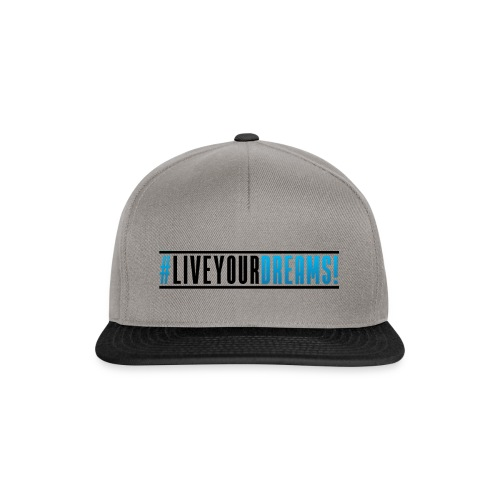 dreamsliveyourdreams2 - Snapback Cap