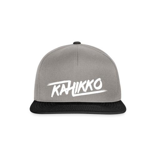 Kahikko Classic Logo White - Snapback Cap