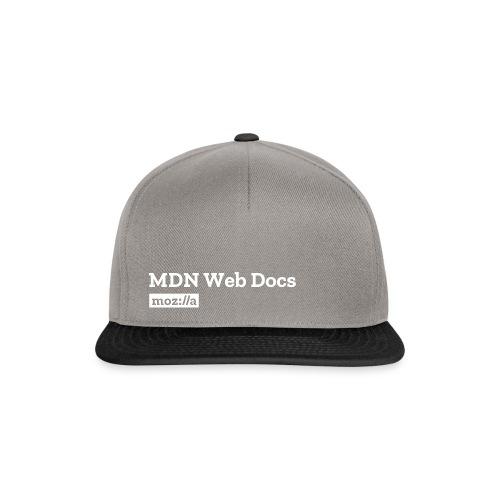 MDN Web Docs Logo - Snapback Cap