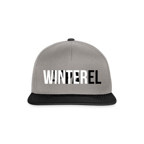 Winter Apparel Logo - Snapback Cap
