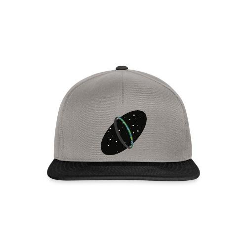 HaloRingworldDark png - Snapback Cap