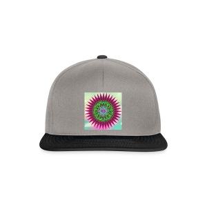 Mandala Flower - Snapback-caps