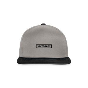 YoItsGaby T-shirt Zwart // Man - Snapback cap