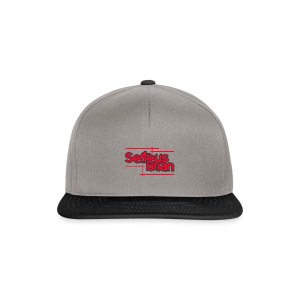 Baseball T-shirt RED - Snapback cap