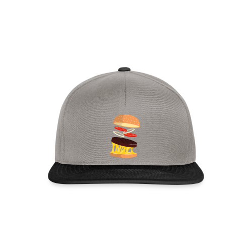 Hamburger Men - Snapback Cap