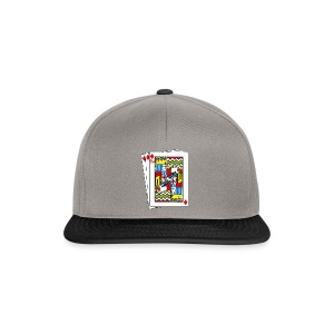 King Playing Card holding a Spraycan - Snapback cap