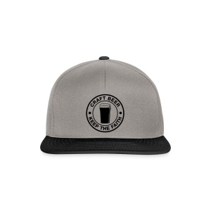 Craft beer, keep the faith! - Snapback Cap