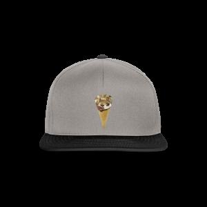 Low-poly_Ice_Cream - Snapback cap