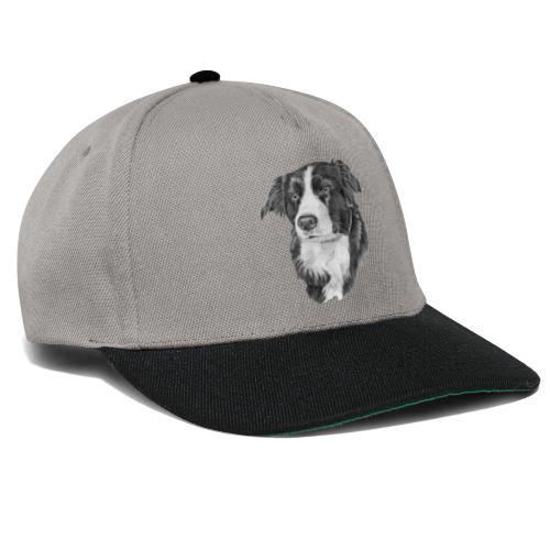 border collie S - Snapback Cap
