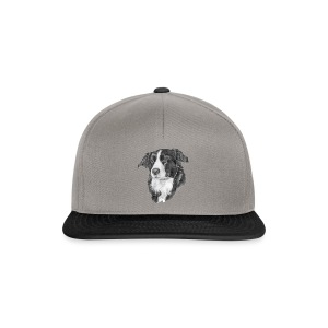 border collie S - Snapback Cap