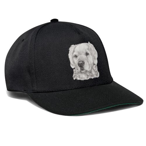 golden retriever - Snapback Cap