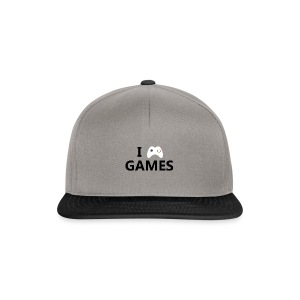 I Love Games - Gorra Snapback