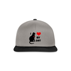 I love my cat - Casquette snapback