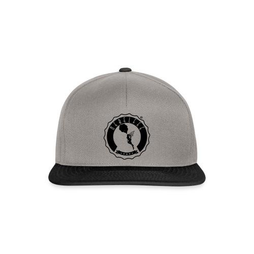 Nebelfee Street Logo schwarz - Snapback Cap
