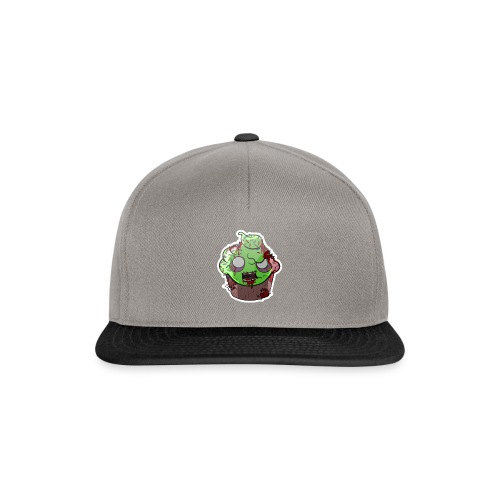 Cupake zombie couleur - Casquette snapback