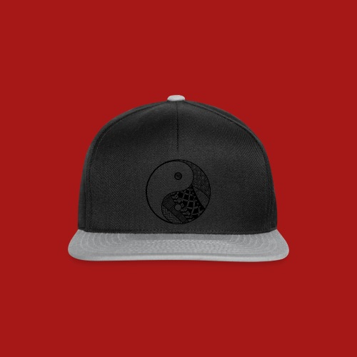 Decorative-Yin-Yang - Snapback Cap