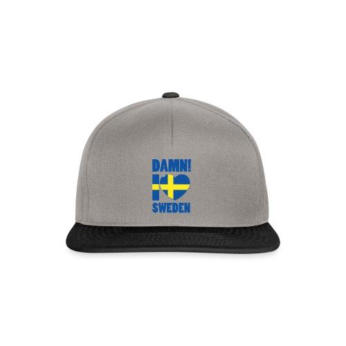 Damn! I love Sweden - Snapbackkeps