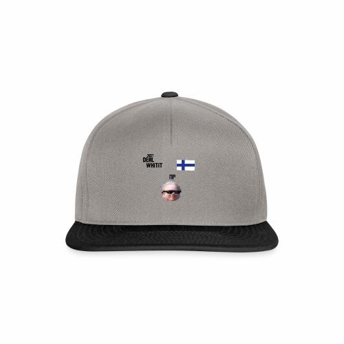 Dealwhitit NP Merch - Snapback Cap