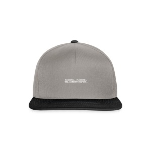 is goed... - Snapback cap