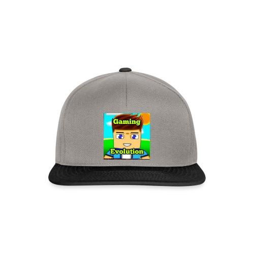 me while gaming - Snapback Cap
