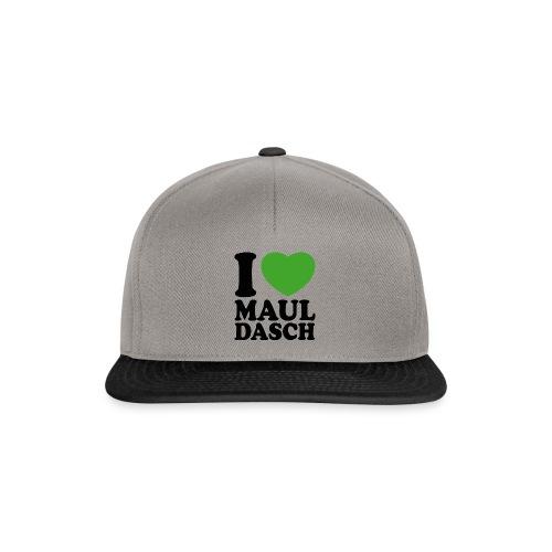 I love Mauldasch - klassik - Snapback Cap