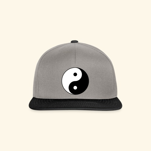 L'équilibre Ying Yang - Casquette snapback