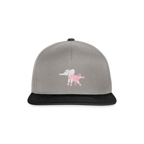 Ballerina Elephant - Snapback Cap