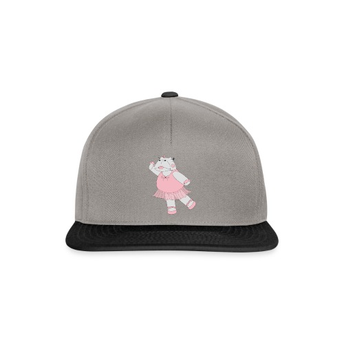 Ballerina Hippo - Snapback Cap