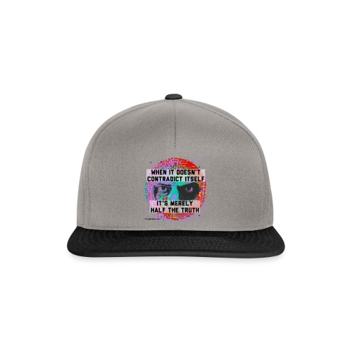 When It Doesn't Contradict Itself - Snapback cap
