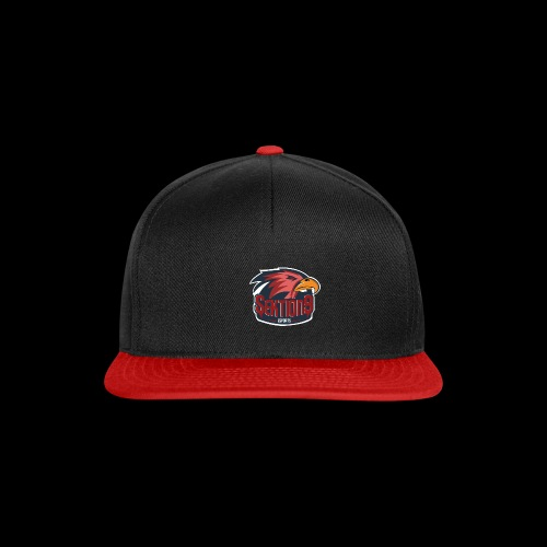 Sektion9 logo Rot - Snapback Cap
