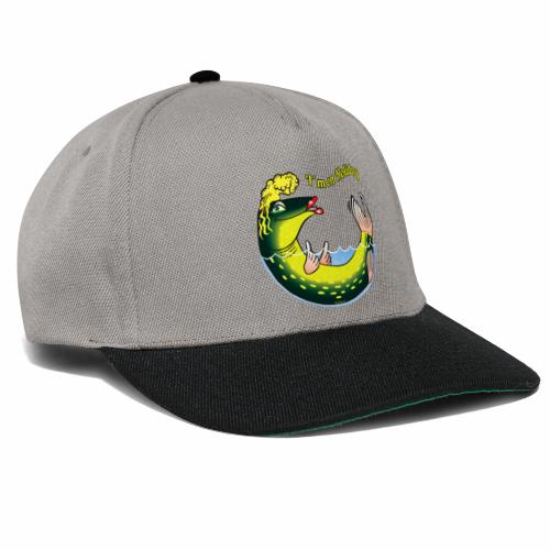 10-39 LADY FISH HOLIDAY - Haukileidi lomailee - Snapback Cap