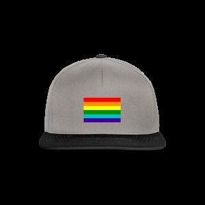 Gay pride rainbow vlag - Snapback cap
