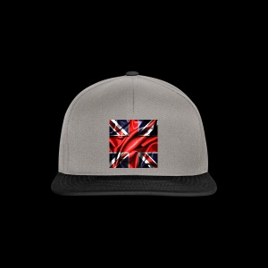 Union Jack design - Snapback Cap