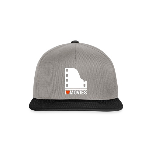 I LOVE MOVIES - Snapback Cap