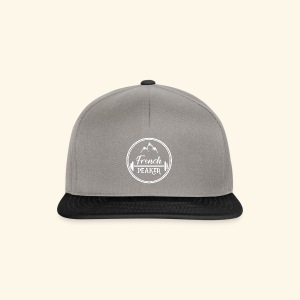 Logo tshirt version 2 French Peakers - Casquette snapback