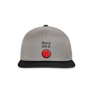 Barry did it - Snapback Cap
