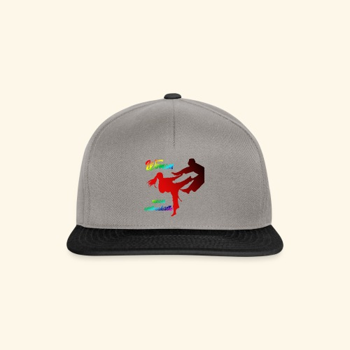 woman mean unbreakable - Snapback Cap