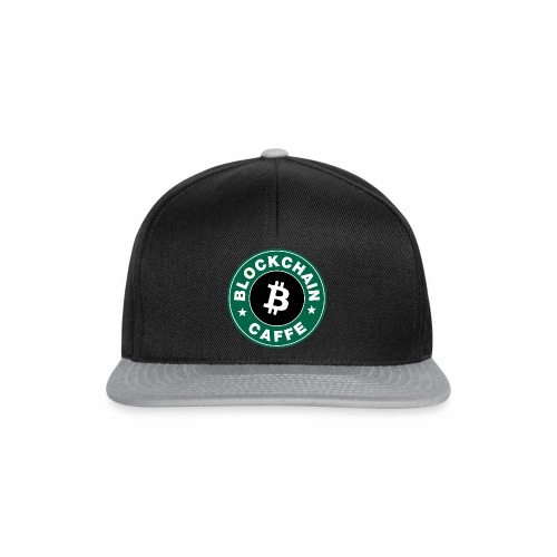 BlockChain Caffè Logo - Snapback Cap