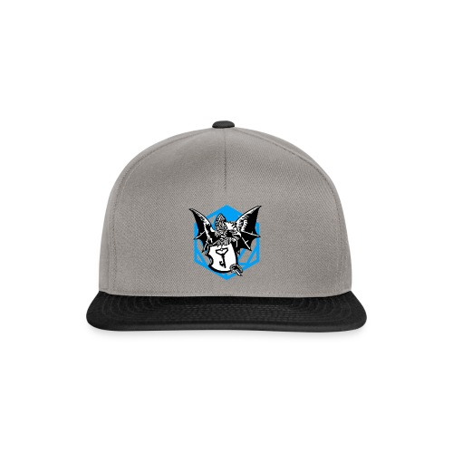 Basilisk Blau - Snapback Cap