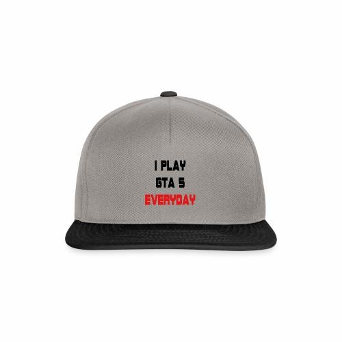I play GTA 5 Everyday! - Snapback cap