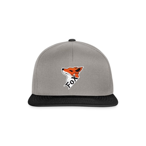 FoX Black&White Edition - Snapback Cap