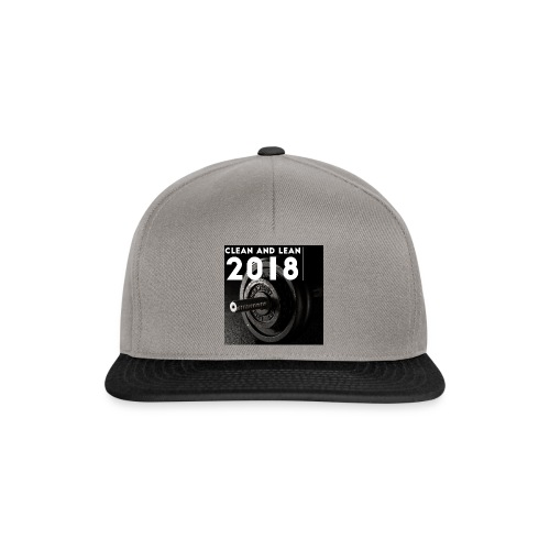 Clean and Lean 2018 - Snapback Cap
