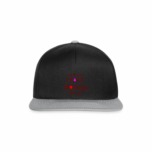 Book your Holiday 1 - Snapback Cap
