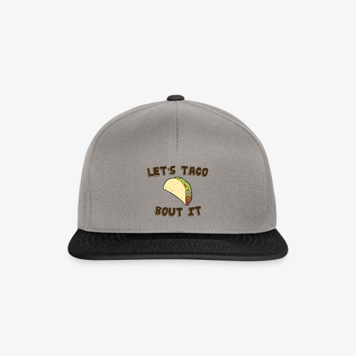 taco bolt it - Snapback Cap