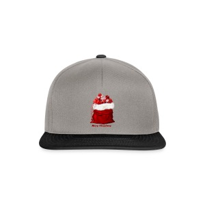 merry christmas shopping - Snapback Cap